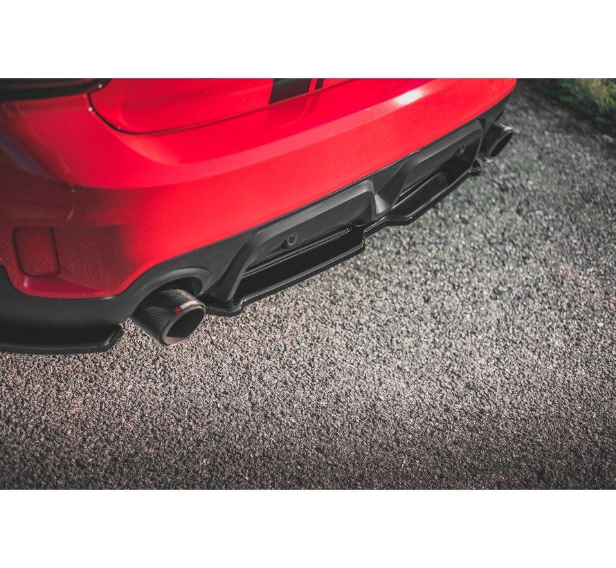 Maxton Design CENTRAL REAR DIFFUSER Mini Countryman Mk2 F60 JCW