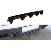 Maxton Design Maxton Design CENTRAL REAR DIFFUSER Mitsubishi Lancer Evo X (with vertical bars)