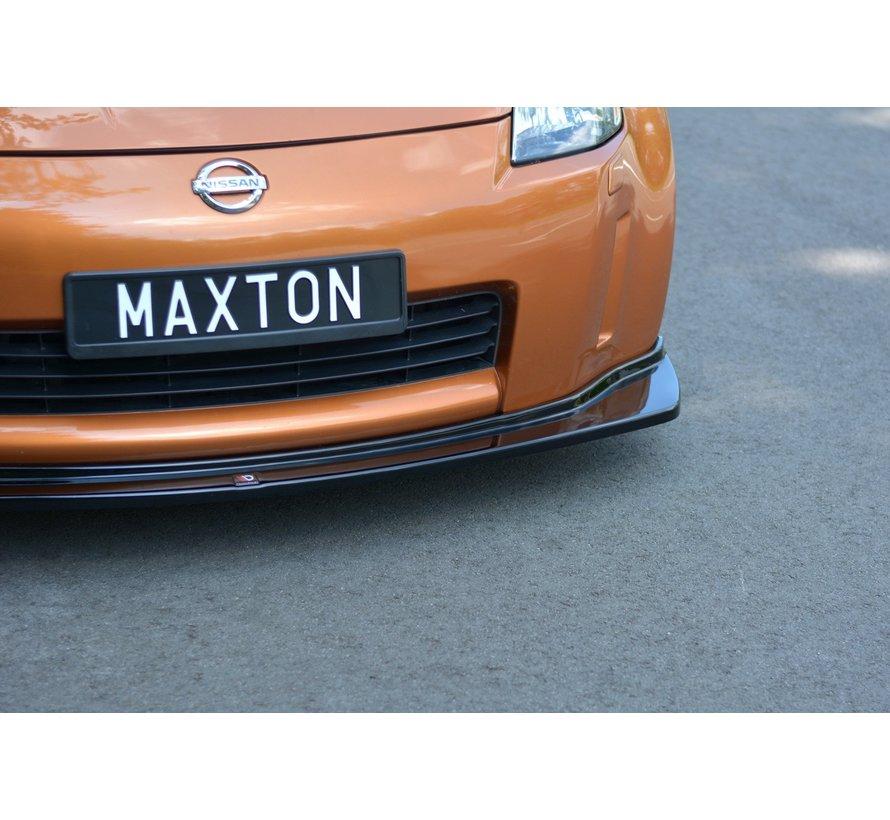 Maxton Design FRONT SPLITTER NISSAN 350Z