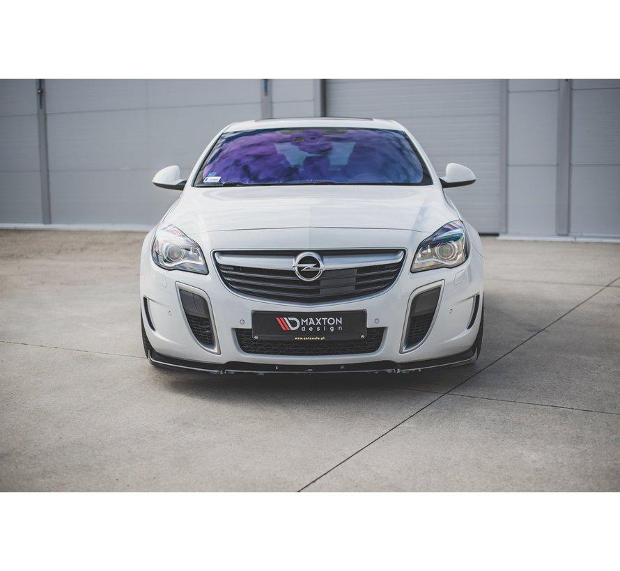 Maxton Design FRONT SPLITTER V.1 Opel Insignia Mk. 1 OPC Facelift