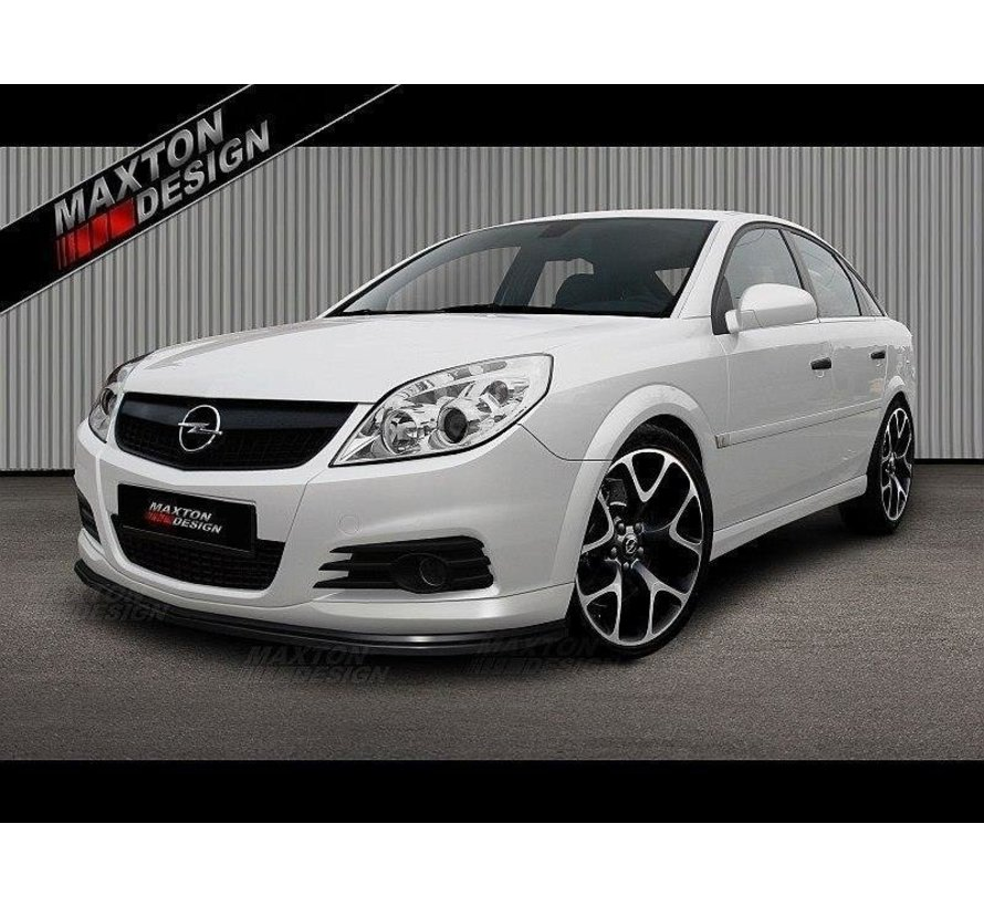 Maxton Design FRONT SPLITTER OPEL VECTRA C (for OPC Line