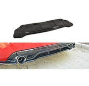 Maxton Design Maxton Design CENTRAL REAR DIFFUSER PEUGEOT 308 II GTI (without vertical bars)