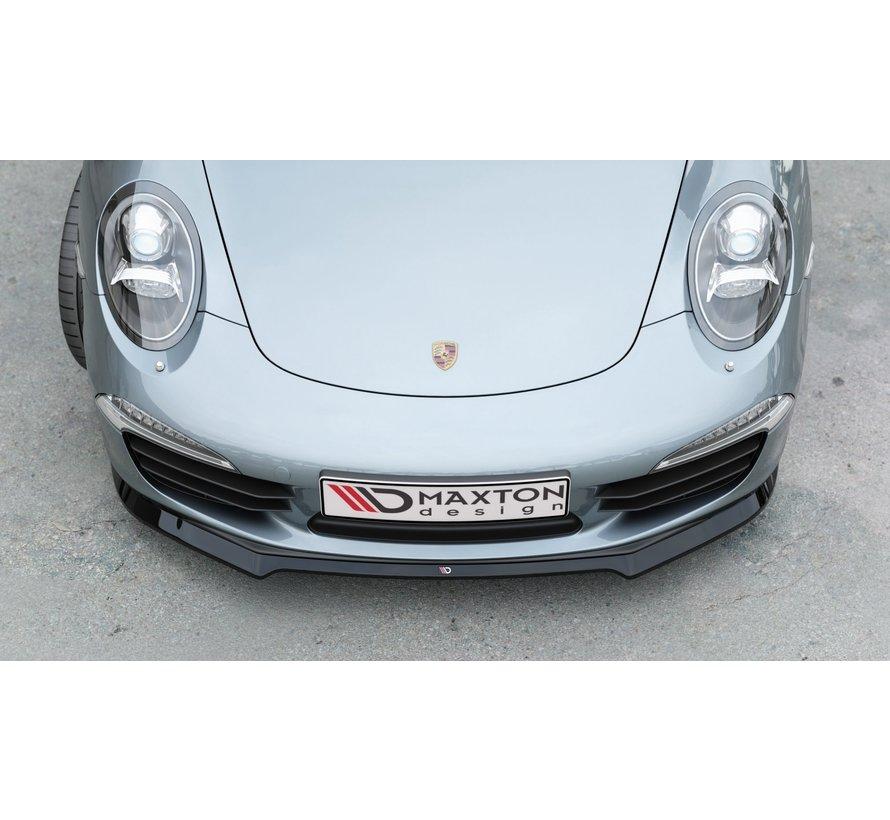 Maxton Design FRONT SPLITTER V.1 Porsche 911 Carrera 991