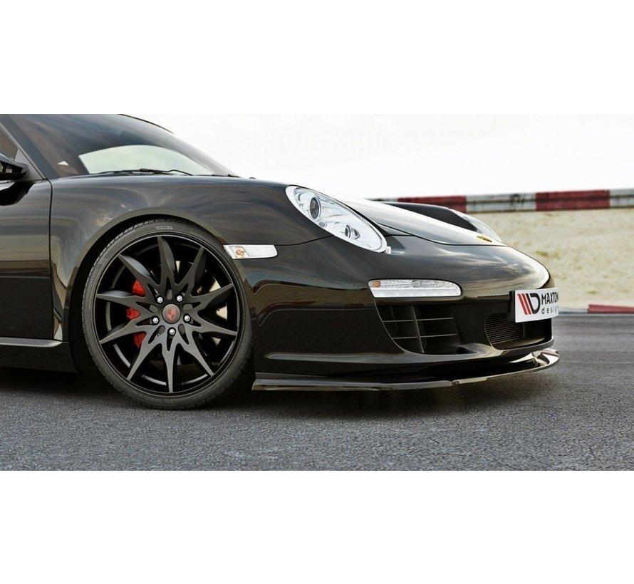 Maxton Design FRONT SPLITTER PORSCHE 911 Carrera 997.2 FACELIFT MODEL