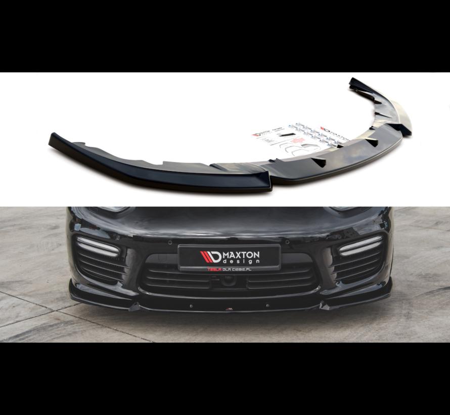 Maxton Design FRONT SPLITTER V.1 Porsche Panamera Turbo 970 Facelift