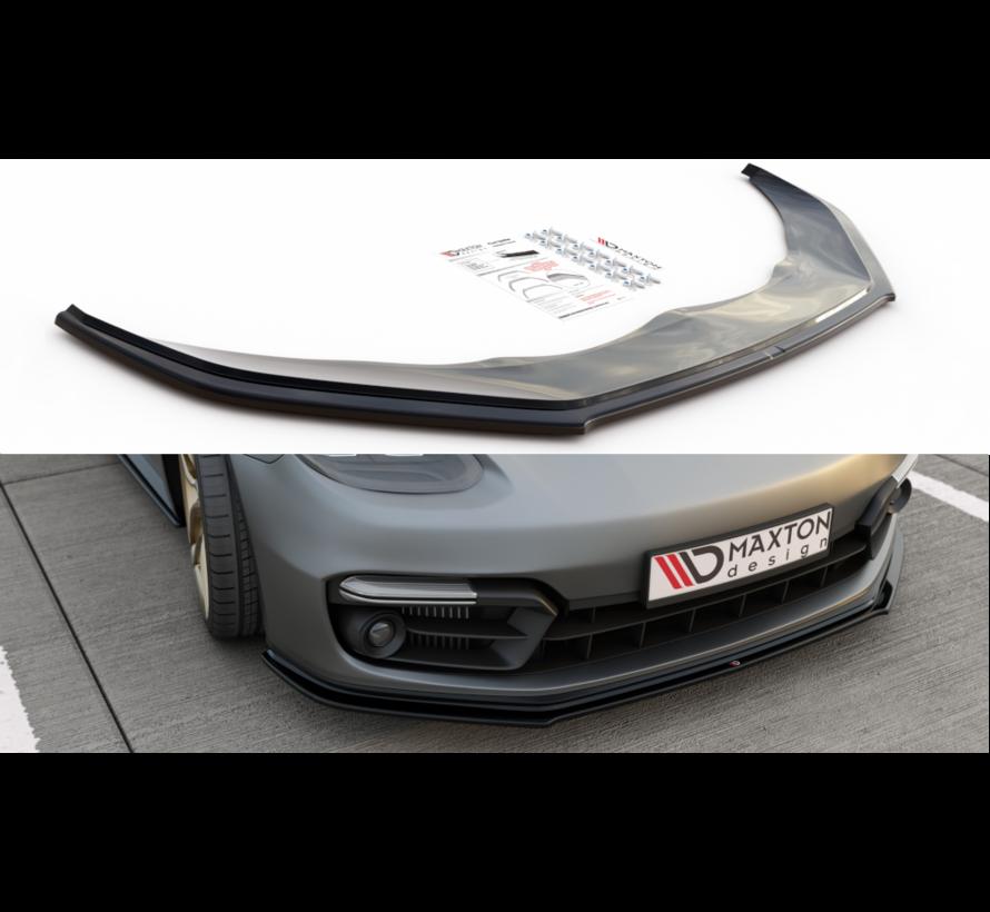 Maxton Design FRONT SPLITTER Porsche Panamera Turbo / GTS 971