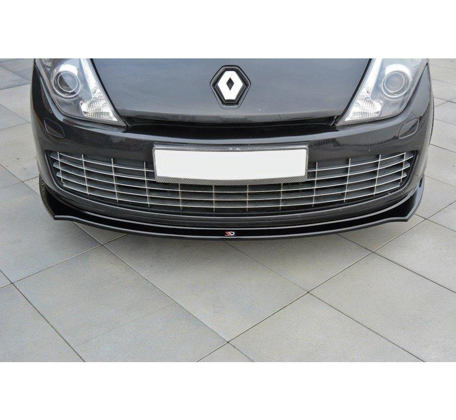 Maxton Design FRONT SPLITTER Renault Laguna mk 3 Coupe