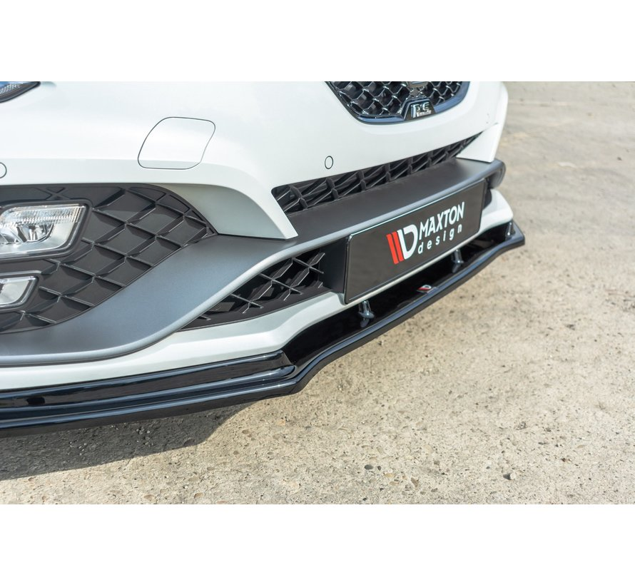 Maxton Design FRONT SPLITTER V.1 Renault Megane IV RS