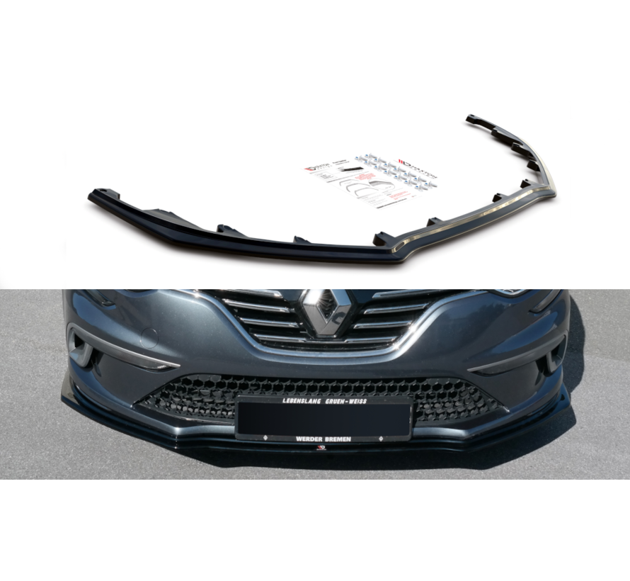 Maxton Design FRONT SPLITTER Renault Megane Mk.4 GT-Line