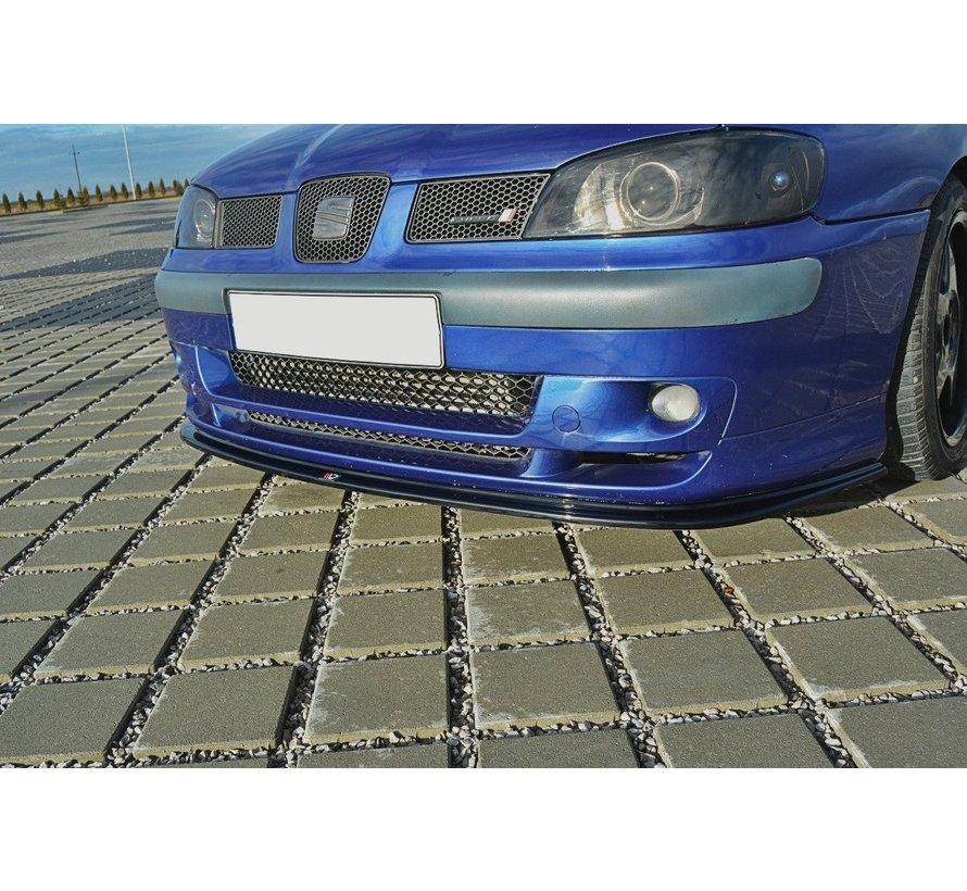 Maxton Design FRONT SPLITTER V.1 SEAT IBIZA MK2 FACELIFT CUPRA