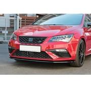 Maxton Design Maxton Design FRONT SPLITTER v.1 Seat Leon Mk3 Cupra/ FR Facelift
