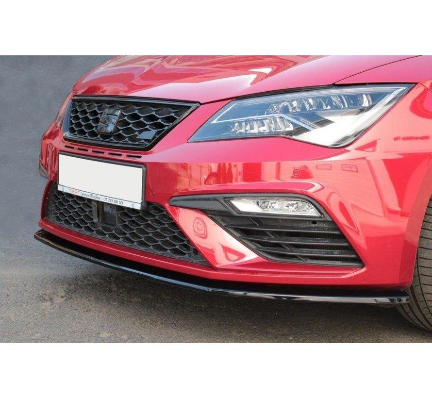 Maxton Design FRONT SPLITTER v.1 Seat Leon Mk3 Cupra/ FR Facelift