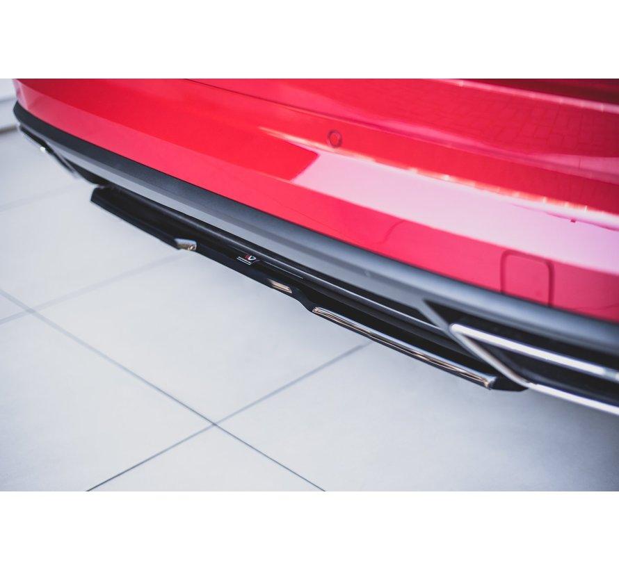 Maxton Design CENTRAL REAR DIFFUSER Skoda Kodiaq RS