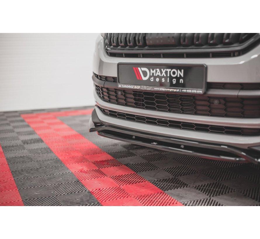 Maxton Design FRONT SPLITTER Skoda Kodiaq Mk1 Sportline/RS