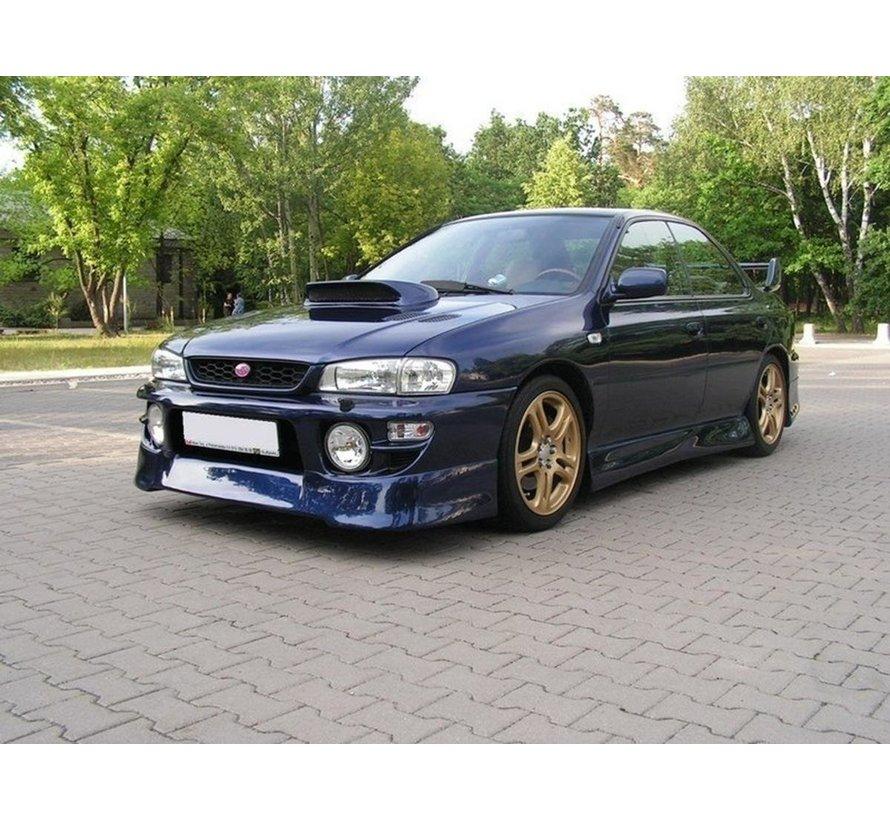 Maxton Design FRONT BUMPER spoiler J-SPEC SUBARU IMPREZA MK1 (1997-2000 GT / WRX / STI)