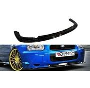 Maxton Design Maxton Design FRONT SPLITTER Subaru Impreza WRX STI (BLOBEYE)