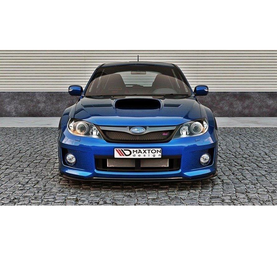 Maxton Design FRONT SPLITTER Subaru Impreza WRX STI 2011-2014