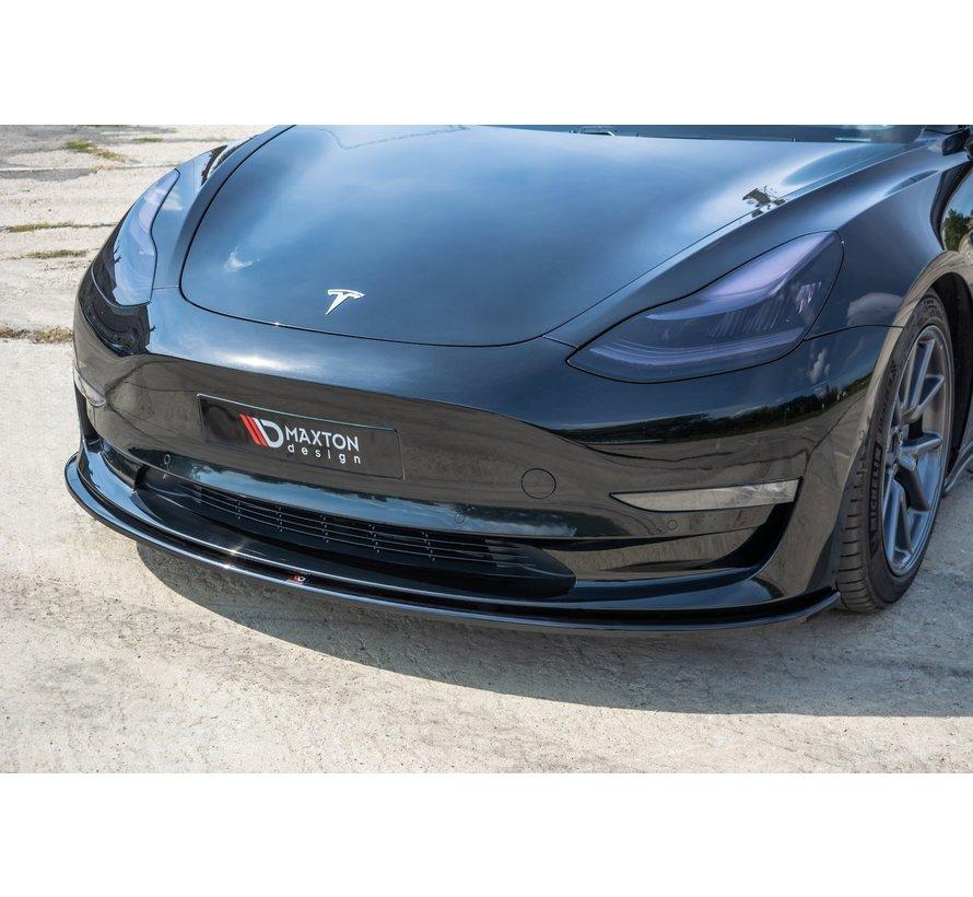 Maxton Design FRONT SPLITTER Tesla Model 3
