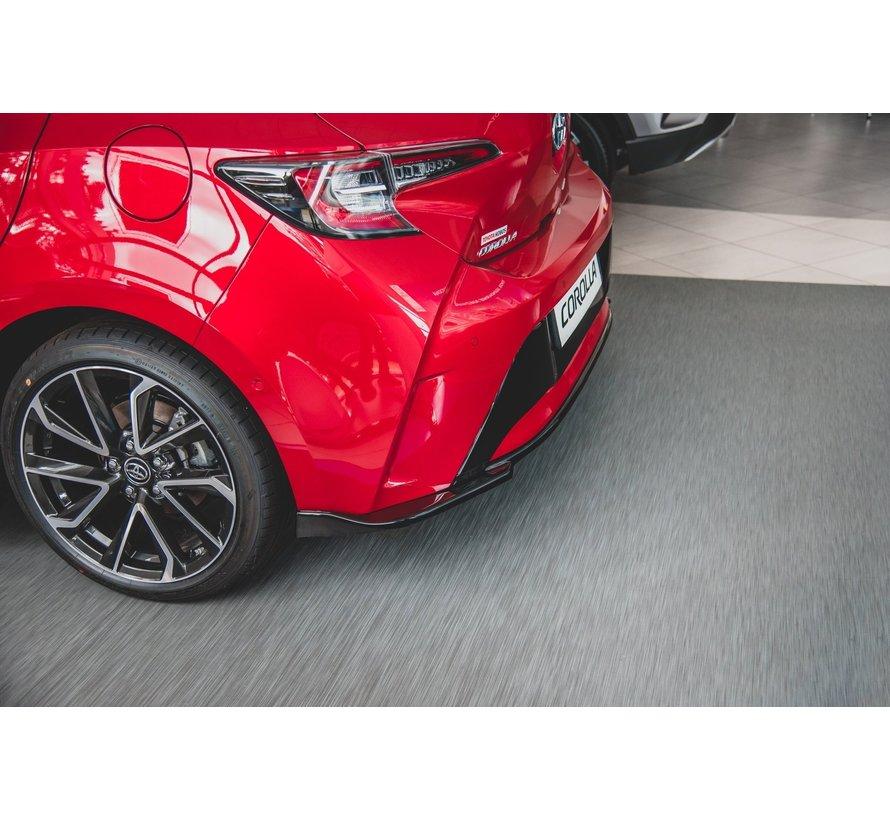 Maxton Design CENTRAL REAR DIFFUSER Toyota Corolla XII Hatchback