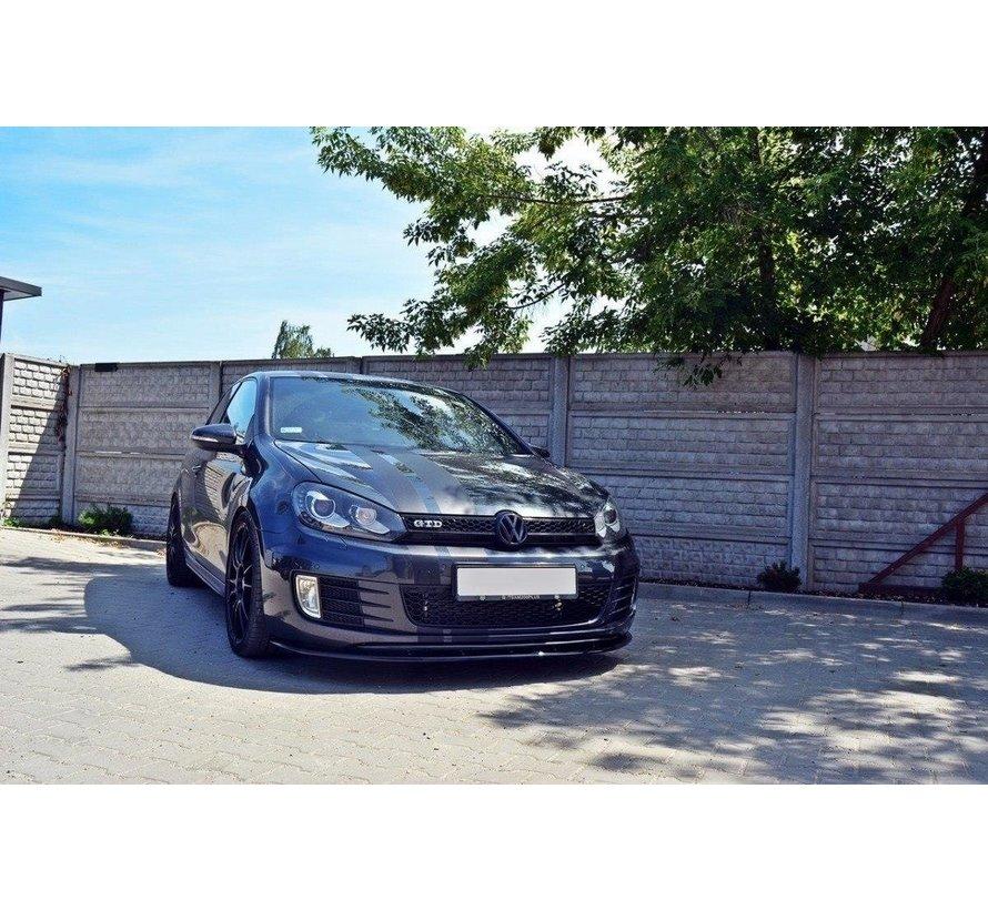 Maxton Design FRONT SPLITTER VER.2 VW GOLF 6 GTI