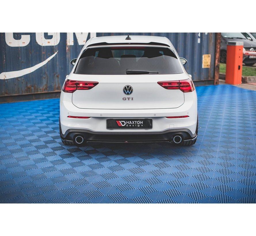 Maxton Design CENTRAL REAR DIFFUSER Volkswagen Golf 8 GTI