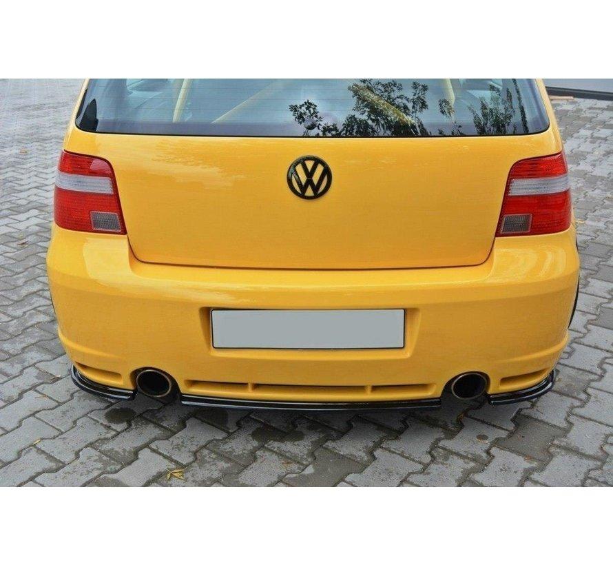 Maxton Design CENTRAL REAR DIFFUSER VW GOLF IV R32