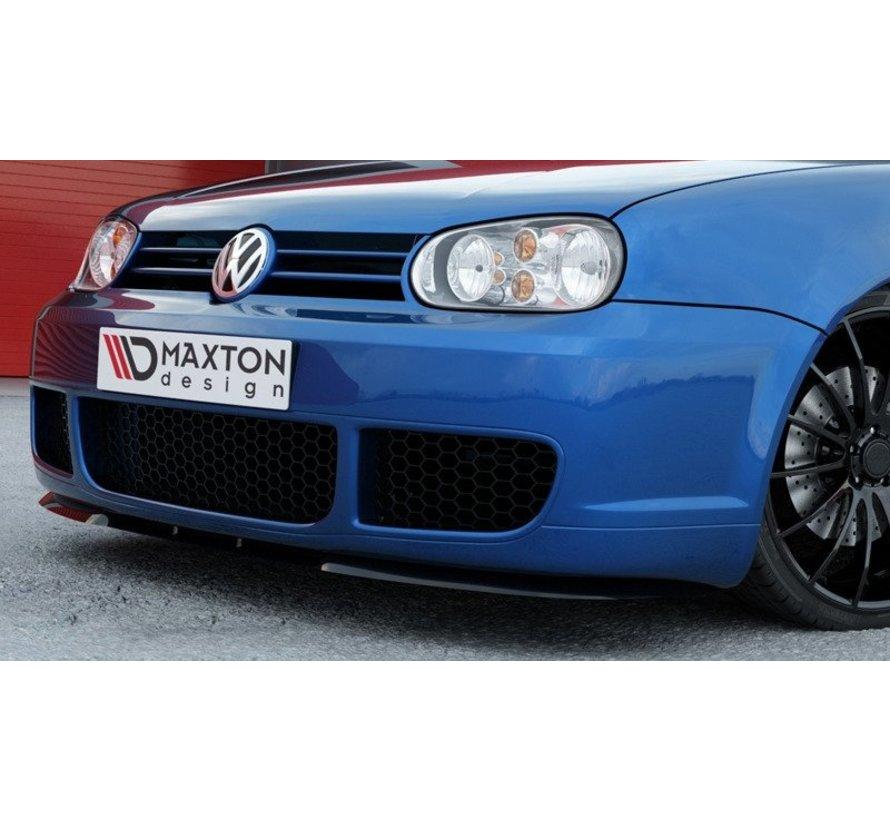 Maxton Design FRONT SPLITTER  (Cupra Look) VW Golf IV R32