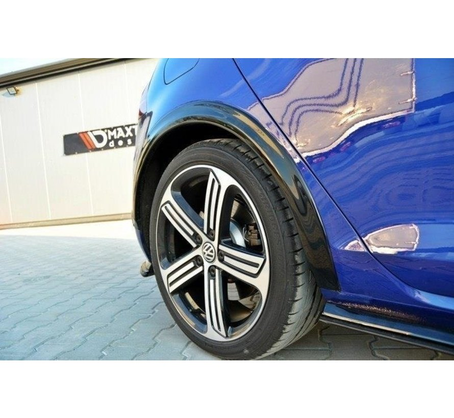 Maxton Design FENDERS EXTENSION VW GOLF 7 R (FACELIFT)