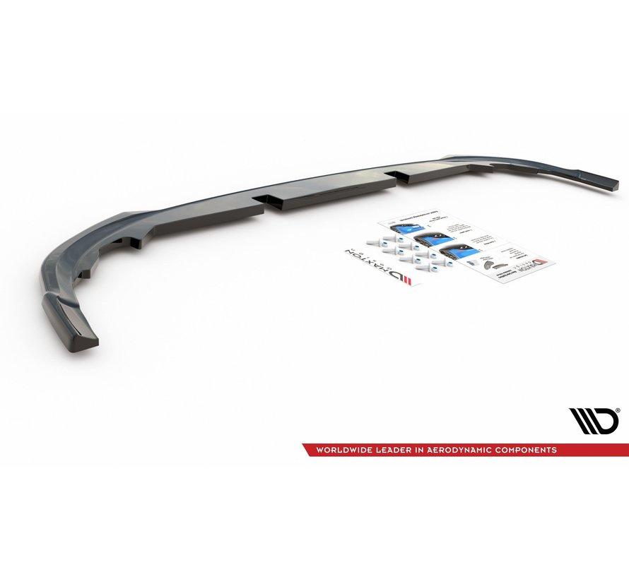 Maxton Design CENTRAL REAR DIFFUSER VW Golf 8