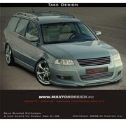 Maxton Design Maxton Design FRONT BUMPER SPOILER VW PASSAT 3BG 01-06