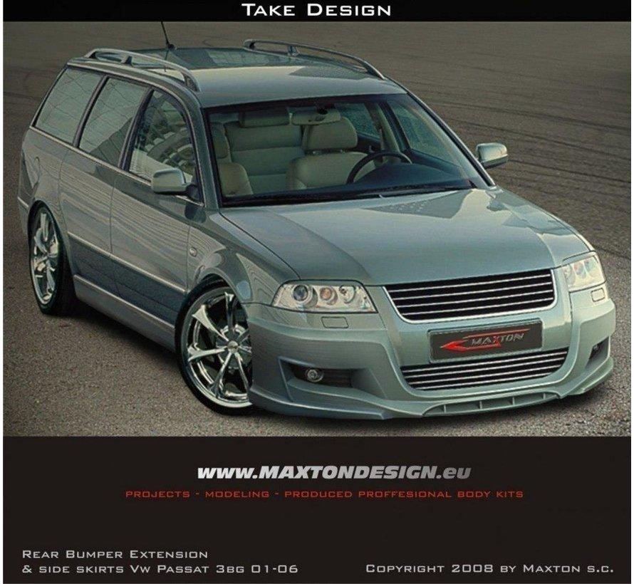 Maxton Design FRONT BUMPER SPOILER VW PASSAT 3BG 01-06