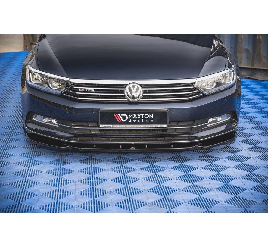 Maxton Design FRONT SPLITTER V.1 Volkswagen Passat B8