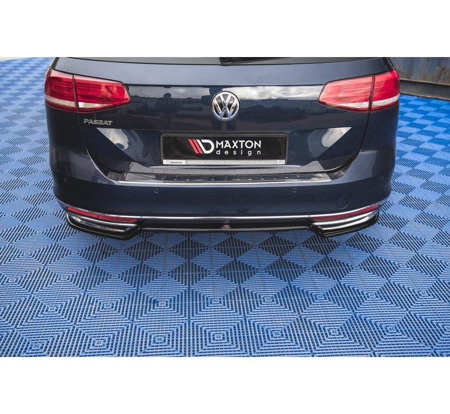 Maxton Design CENTRAL REAR DIFFUSER Volkswagen Passat B8