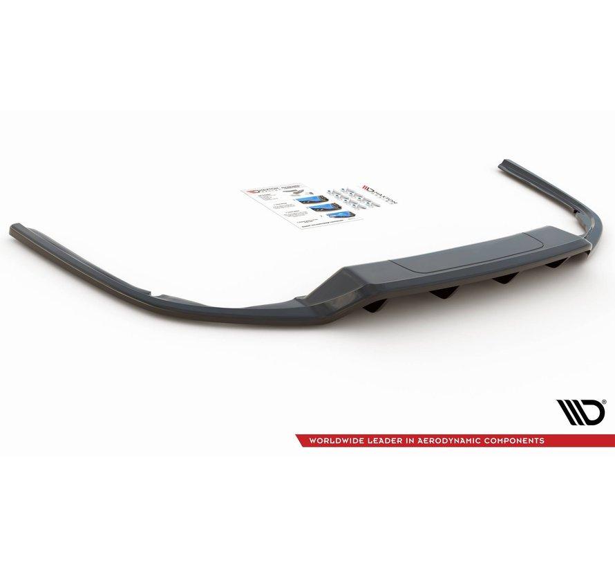 Maxton Design CENTRAL REAR DIFFUSER (with vertical bars) Volkswagen Passat B8