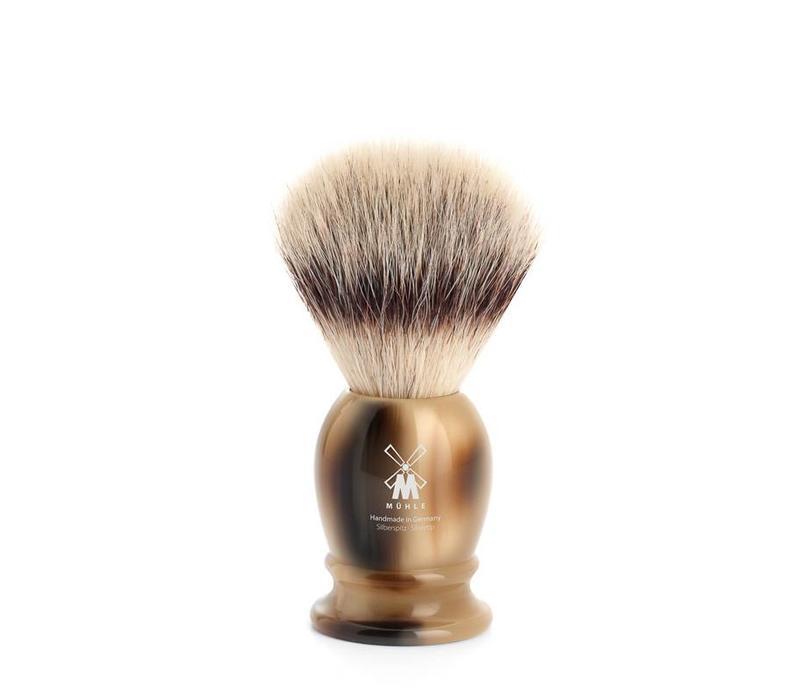 Scheerkwast Silvertip Fibre®- HoornBruin