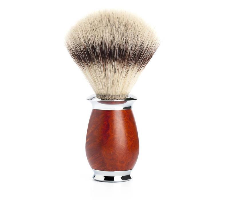 Scheerkwast Silvertip Fibre® - Briar hout