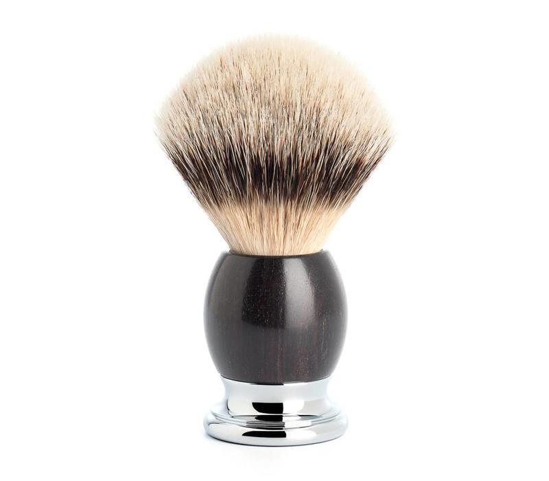Scheerkwast Silvertip Dassenhaar - Blackwood
