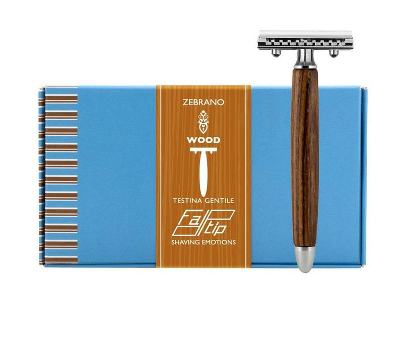 Safety Razor - Zebrano