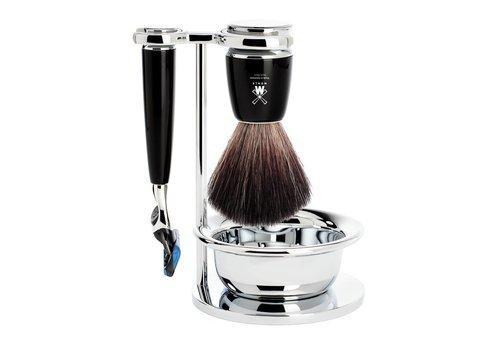 MÜHLE Scheerset Rytmo - Zwart - Fusion® - Fibre®