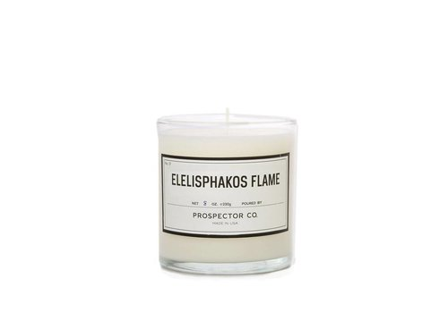 Prospector Co. Candle Eleisphakos Flame 8oz.