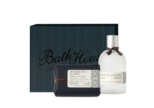 Bath House Cadeauset Spanish Fig & Nutmeg - Cologne