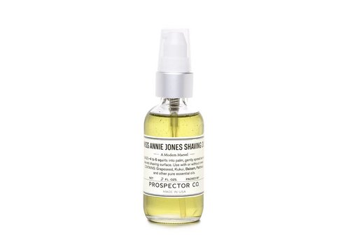 Prospector Co. Miss Annie Jones Scheerolie 60ml