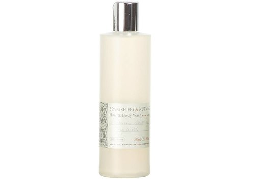 Bath House Hair & Body Wash 260ml Spanish Fig & Nutmeg