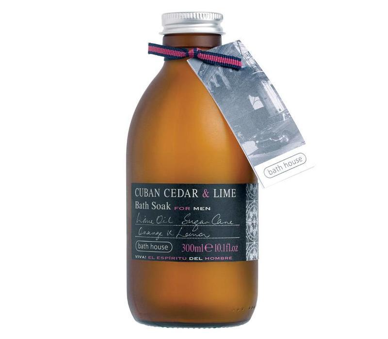 Badschuim 300ml Cuban Cedar & Lime