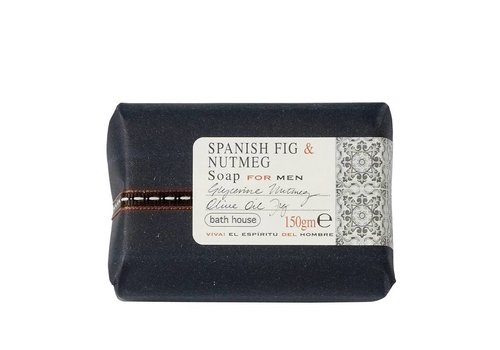 Bath House Badzeep 150g Spanish Fig & Nutmeg