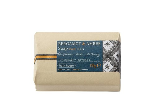 Bath House Badzeep 150g Bergamot & Amber