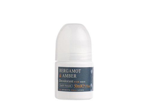Bath House Deodorant 50ml Bergamot & Amber