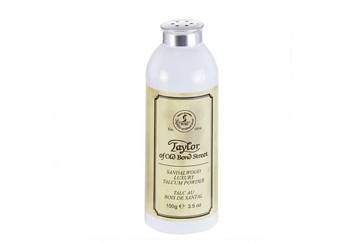 Taylor of Old Bond Street Sandalwood Talkpoeder 100g