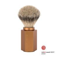 Scheerkwast Silvertip - Bronze