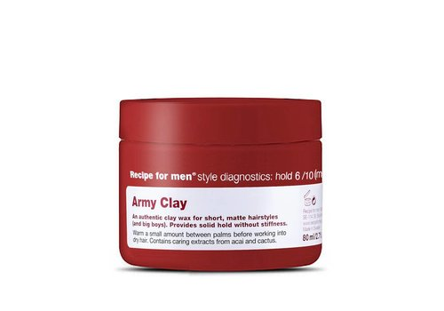 Recipe For Men Army Clay 80ml
